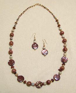 Hand made beaded jewelry