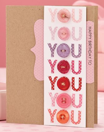 You You You Card by @Maile B. B. Belles #birthday