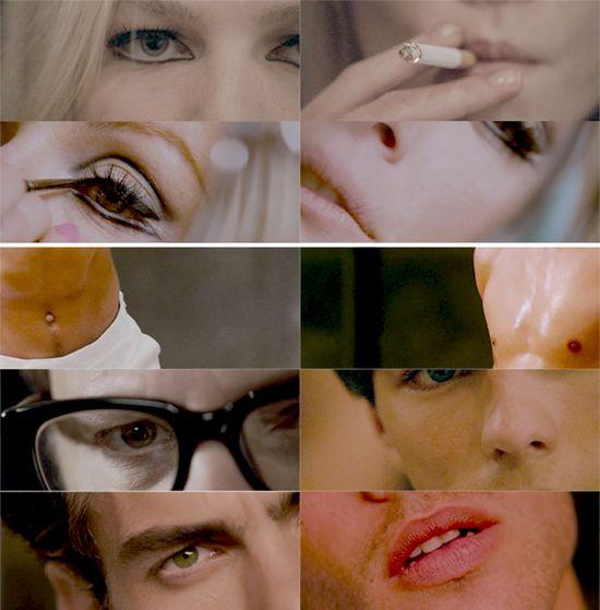 Julianne Moore eye makeup A Single Man