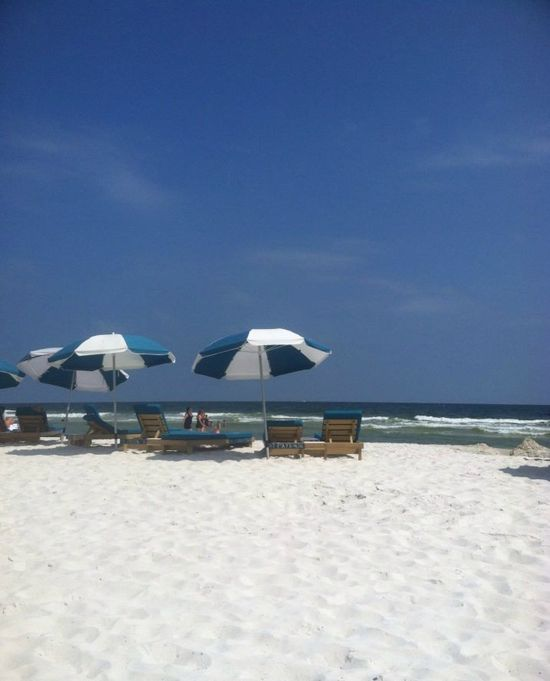 A beautiful beach day at Turquoise Place
