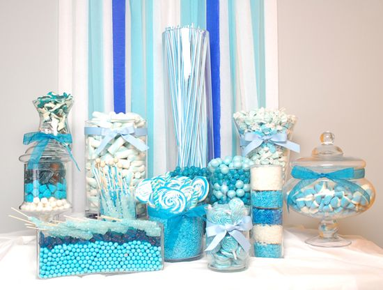 Beautifully Blue Candy Buffet Bazaar