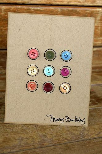 So simple and I love the buttons.