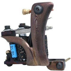 Damascus Steel Handmade Tattoo Machine Shader Gun e010725 by cool2day. $46.99. 3. Each machine is handmade with meticulous care and experience. For each frame was handmade seperately, so each machine frame with a different patterns, no repeat ones. Each machine gun you got will be the unique one on the market.. 4. High-grade tattoo machine, fashionable, one pattern for one machine, and never repeat! Powerful, performance is extremely stable, the first choice o...