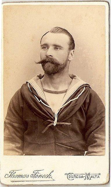 Vintage Sailor Portrait