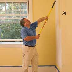 Great info on how to paint trim & doors