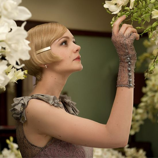 Carey Mulligan evokes Jazz Age glamour in Tiffany jewelry created expressly for Baz Luhrmann's film The Great Gatsby.