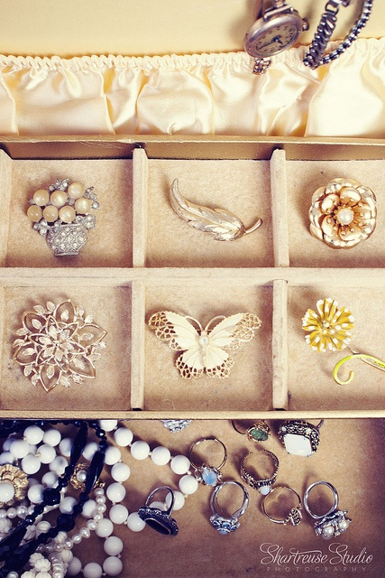 vintage Brooches and Jewelry
