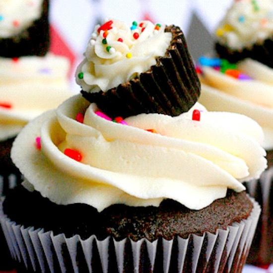 Wow! Cupcake in a cupcake