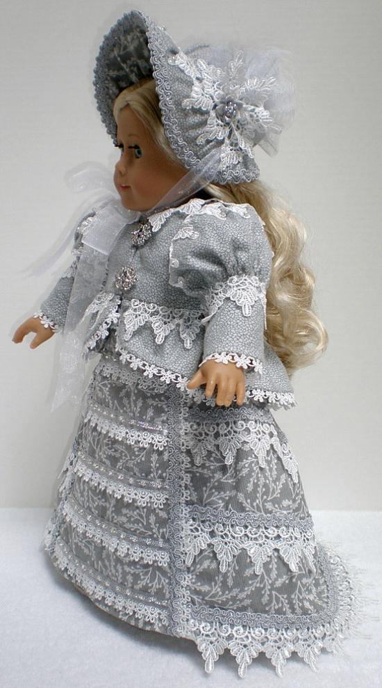 CAROLINE ABBOTT REGENCY Dress 5pc  American Girl by dollupmydoll, $190.00