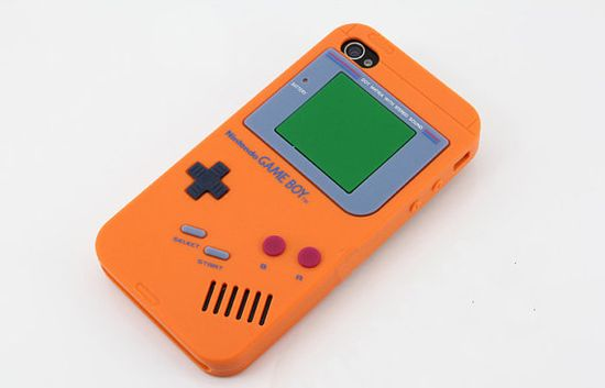 when i get a new iphone i'm getting this case. iPhone 4 Gameboy Style Silicone Case.
