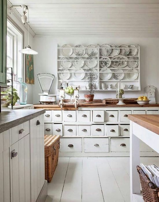 Shabby chic kitchen - myshabbychicdecor... - #shabby_chic #home_decor #design #ideas #wedding #living_room #bedroom #bathroom #kithcen #shabby_chic_furniture #interior interior_design #vintage #rustic_decor #white #pastel #pink