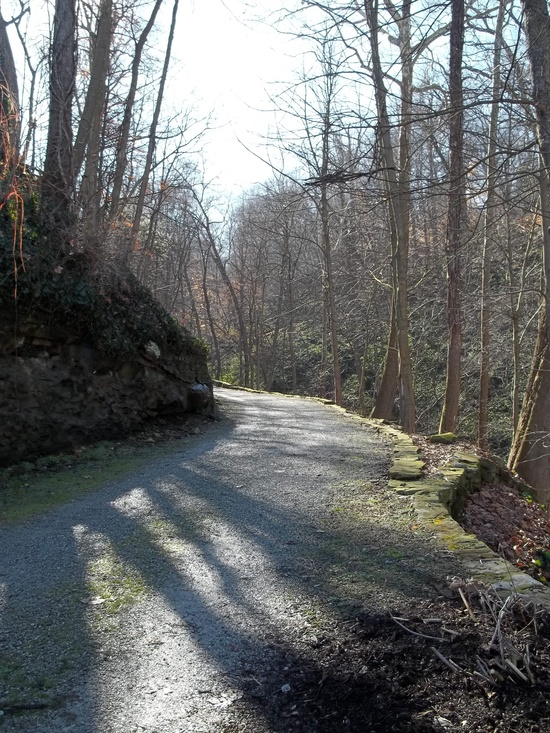 "One of my favorite ""urban"" trails- The Carriage Trail, Charleston WV"
