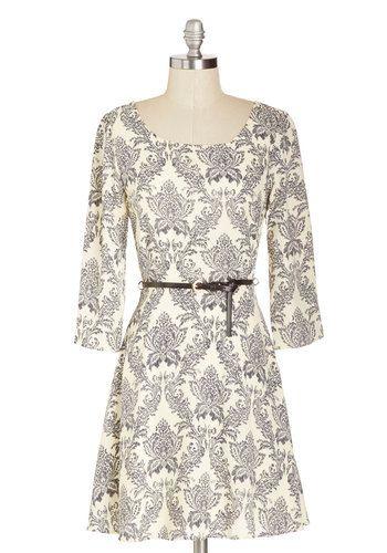 Handmade Invitations Dress, #ModCloth