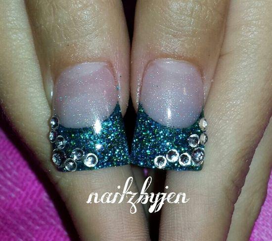 stone me up by nailzbyjen - Nail Art Gallery nailartgallery.na... by Nails Magazine www.nailsmag.com #nailart