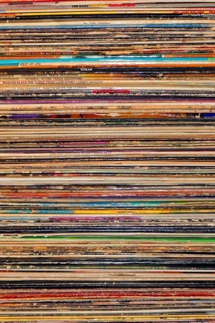 records iphone wallpaper