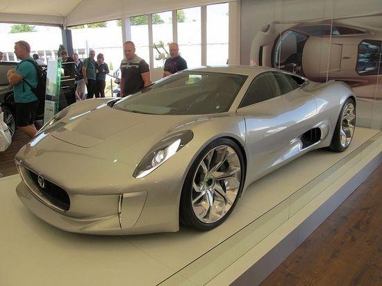 Jaguar C-X75 Hybrid Concept car