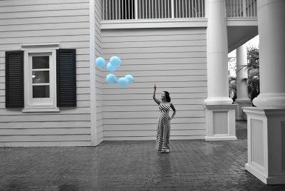 Baby boy balloon Gender reveal