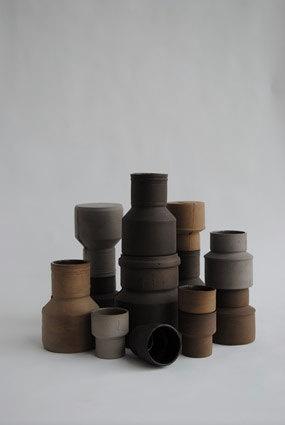 Ceramic vases from Maukstudio