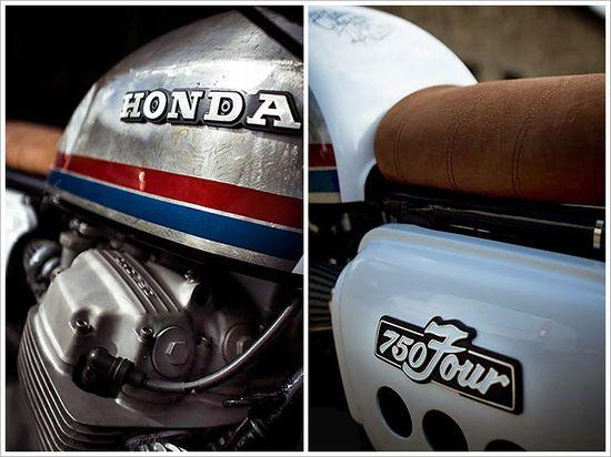 '76 Honda CB750 - Sur les Chapeaux deRoues - Pipeburn - Purveyors of Classic Motorcycles, Cafe Racers & Custom motorbikes
