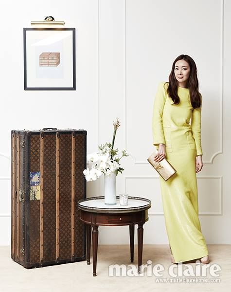 Choi Ji-woo // Marie Claire Korea // August 2013