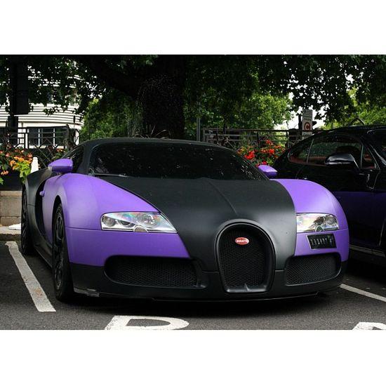 Sexy Purple Bugatti Veyron