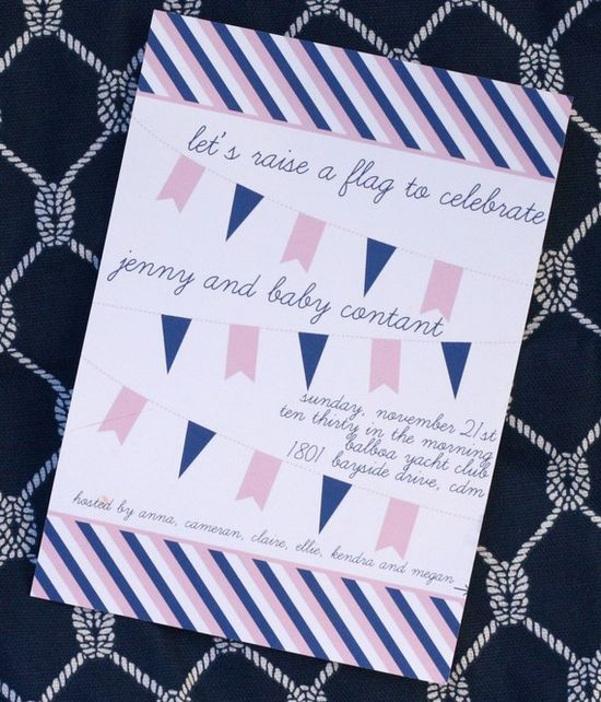 cute baby shower invite.