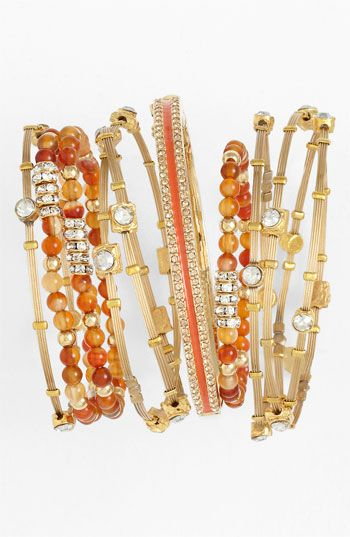 Cara Bead Stretch Bracelets