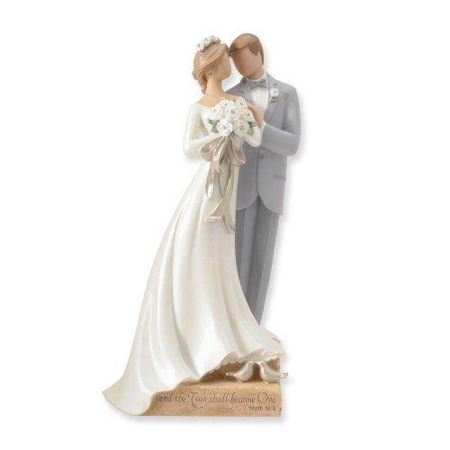 Romantic Wedding Couple Figurines