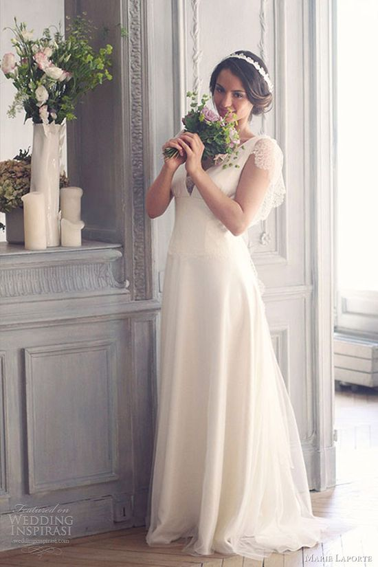 marie laporte 2013 romantic wedding dresses