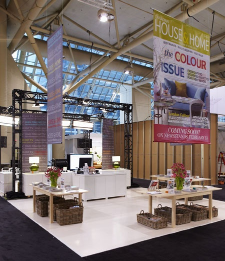 House & Home Booth furnished by IKEA at the Interior Design Show 2012