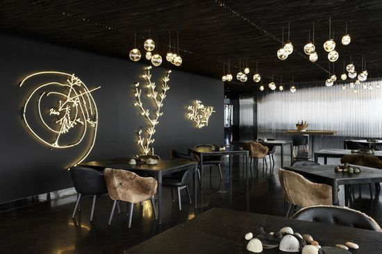 Vue de monde flagship restaurant by Elenberg Fraser, Melbourne bar and #decoracao de casas #home design #interior design office