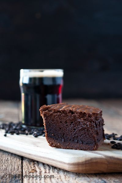 Chocolate Stout Mousse Brownies