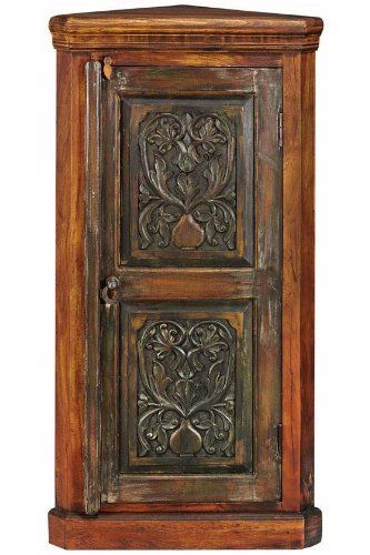 "Kingwood Corner Cabinet, 48""Hx24""W, NATURAL by Home Decorators Collection. $359.00. Fully assembled.. 48""H x 24""W x 14""D.. Meticulously crafted of high-quality materials, the Kingwood Corner Cabinet will remain a favorite part of your decor for years to come. Made of century-old, reclaimed wood and specially treated with natural oils, every cabinet is unique and no two are ever exactly alike. Add the extra storage space and the lasting style of this piece to your ..."