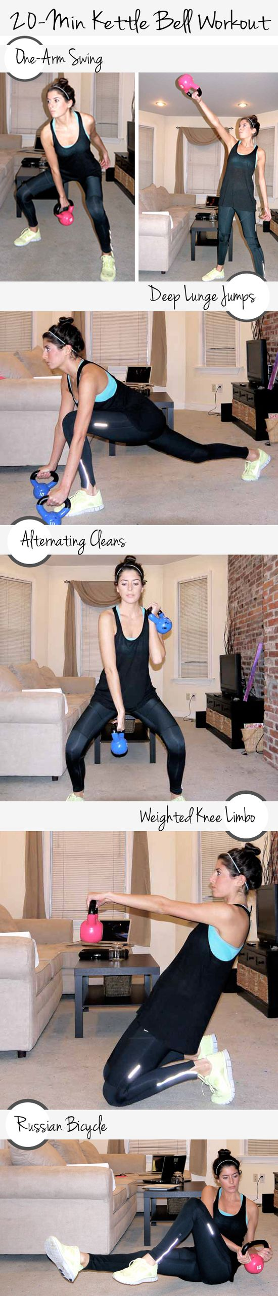 20-Minute Kettle Bell Workout