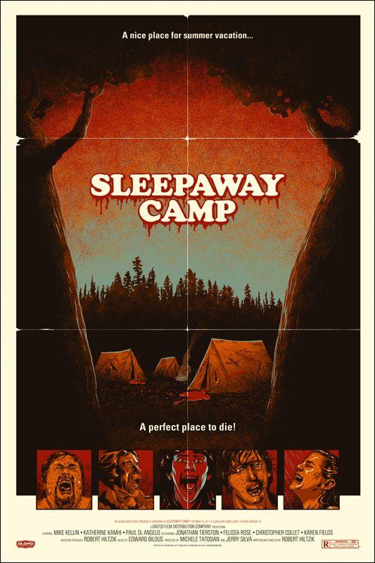 Sleepaway Camp (1983) horror movie poster #80s #horrormovies