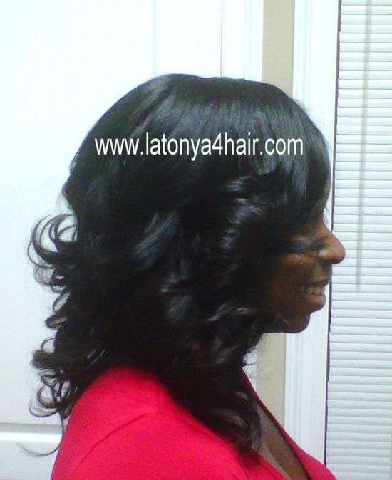 Sew-In Weave Gallery