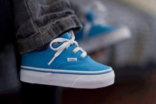 Yep. Bubba needs these for sure.... Baby boy blue vans