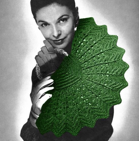 Vintage 1940s Crochet Pattern Pinwheel Fan Purse by 2ndlookvintage, $3.00