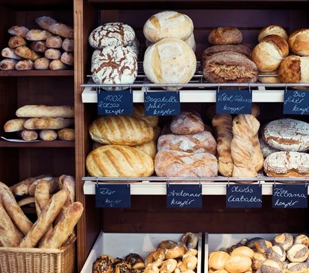 Handmade breads