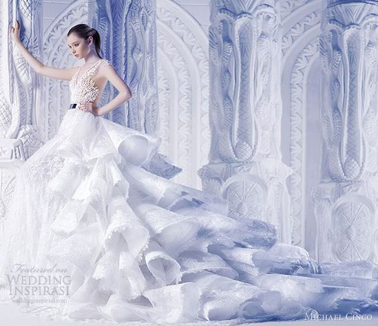 michael cinco 2013 wedding dresses