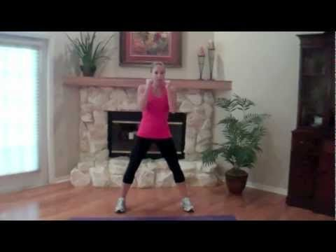 10 min. Kickboxing Workout For a Tighter Core