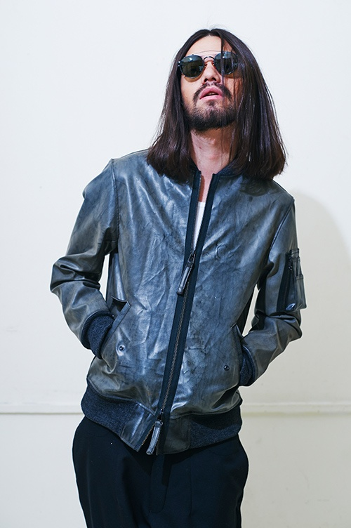Really like the jacket. TALKING ABOUT THE ABSTRACTION 2013 Fall/Winter Collection