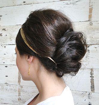 Fall Hair Styles Wedding Crown