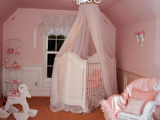 PINK NURSERY - Home and Garden Design Ideas