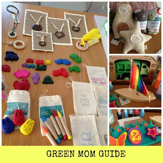 Ideas for eco-friendly moms.