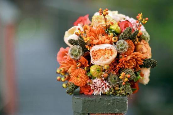 Perfect Fall Wedding Bouquet