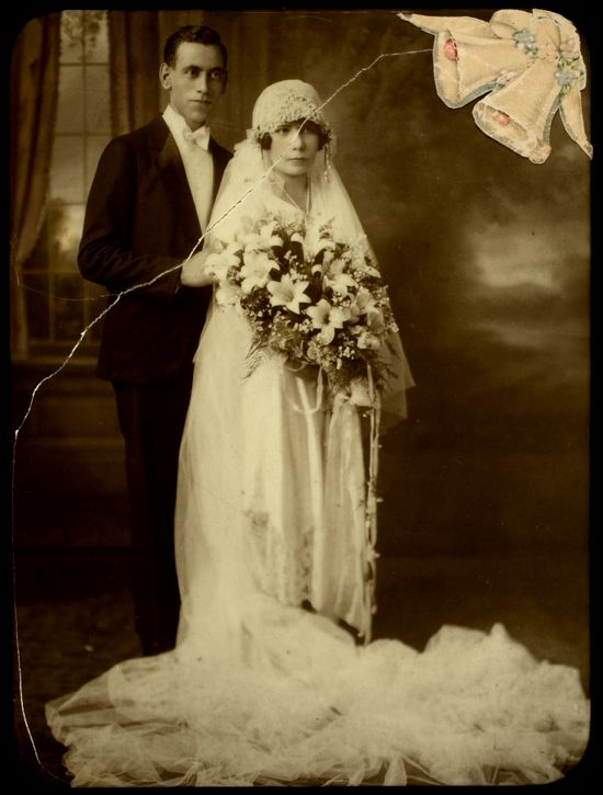 Wedding photo from 1925