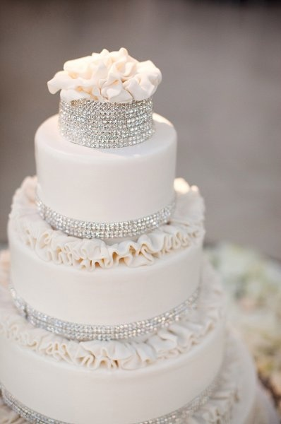 Sparkly Wedding Cake