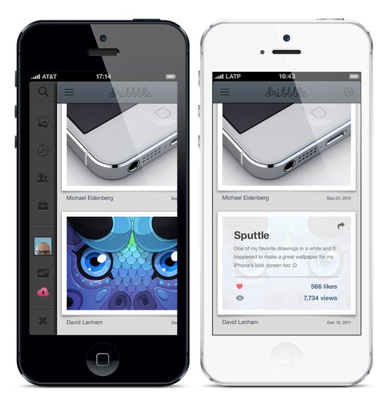 Dribbble - dribbble-app-big-detail.png by Jordi Manuel