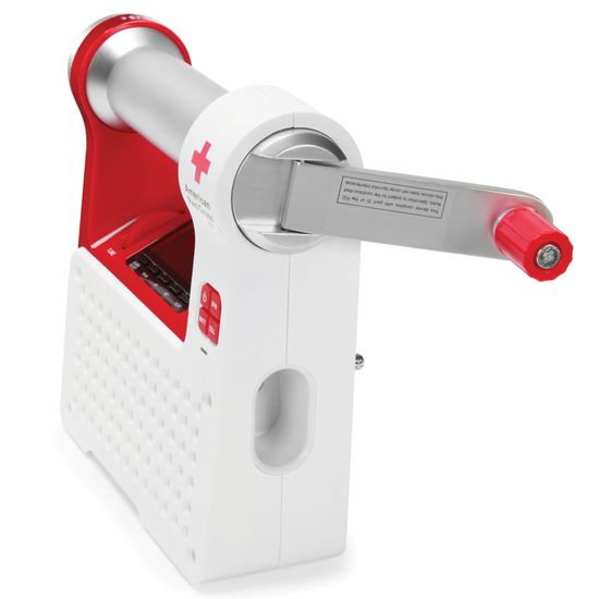 The Red Cross Emergency Radio- weather alerts AND it can charge your cell phone when the power is out.  I need this.